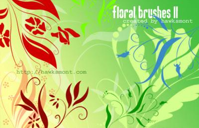 Descargar Brushes Florales Gratis