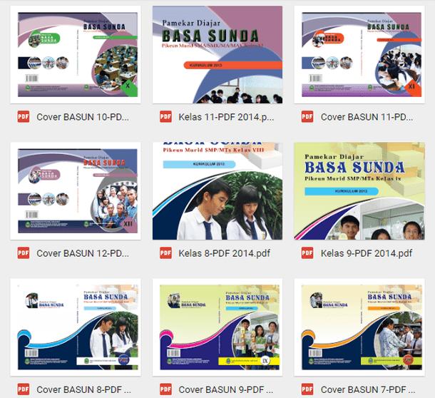Buku Siswa Bahasa Sunda SD MI SMP MTs SMA SMK MA MAK