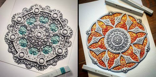 00-Baz-Furnell-3D-Looking-Mandala-Drawings-www-designstack-co