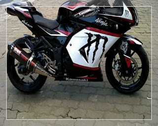 modifikasi ninja r 2004 modifikasi ninja r drag