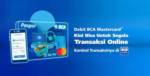 Kartu Debit BCA Bisa Untuk Transaksi Online