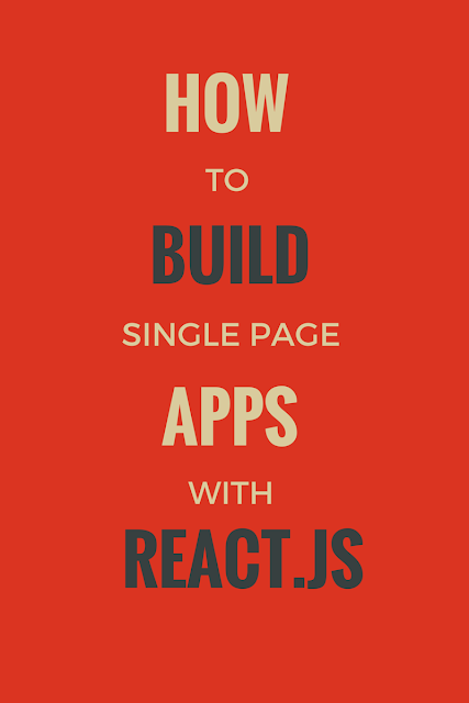 Step by step tutorial for Building Single Page Applications (SPA) with Om & React