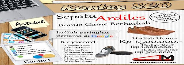 Sepatu Ardiles Bonus Game Berhadiah