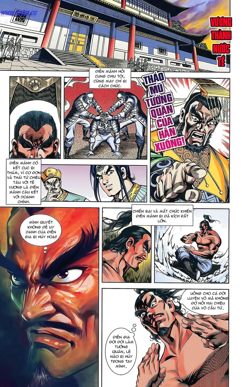 Tần Vương Doanh Chính chapter 15 trang 4