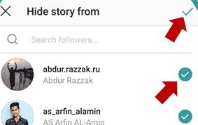 Cara Menyembunyikan Story Instagram ke Beberapa Followers 6