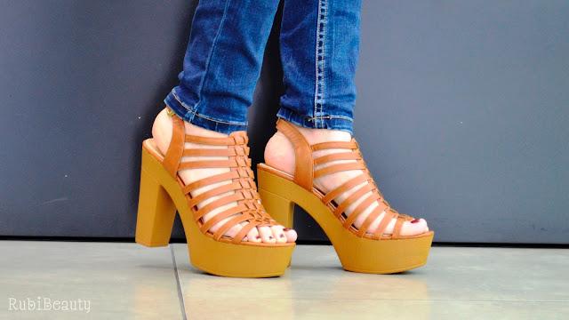 rubibeauty blogger #holeatopstyle holea huelva zapatos boho ss16 cuñas sandalias