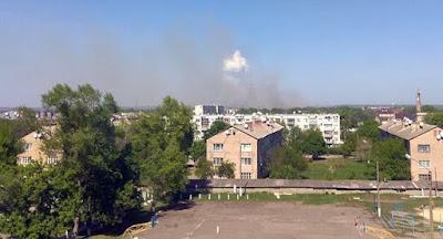 На арсеналі у Балаклії знову виникла пожежа