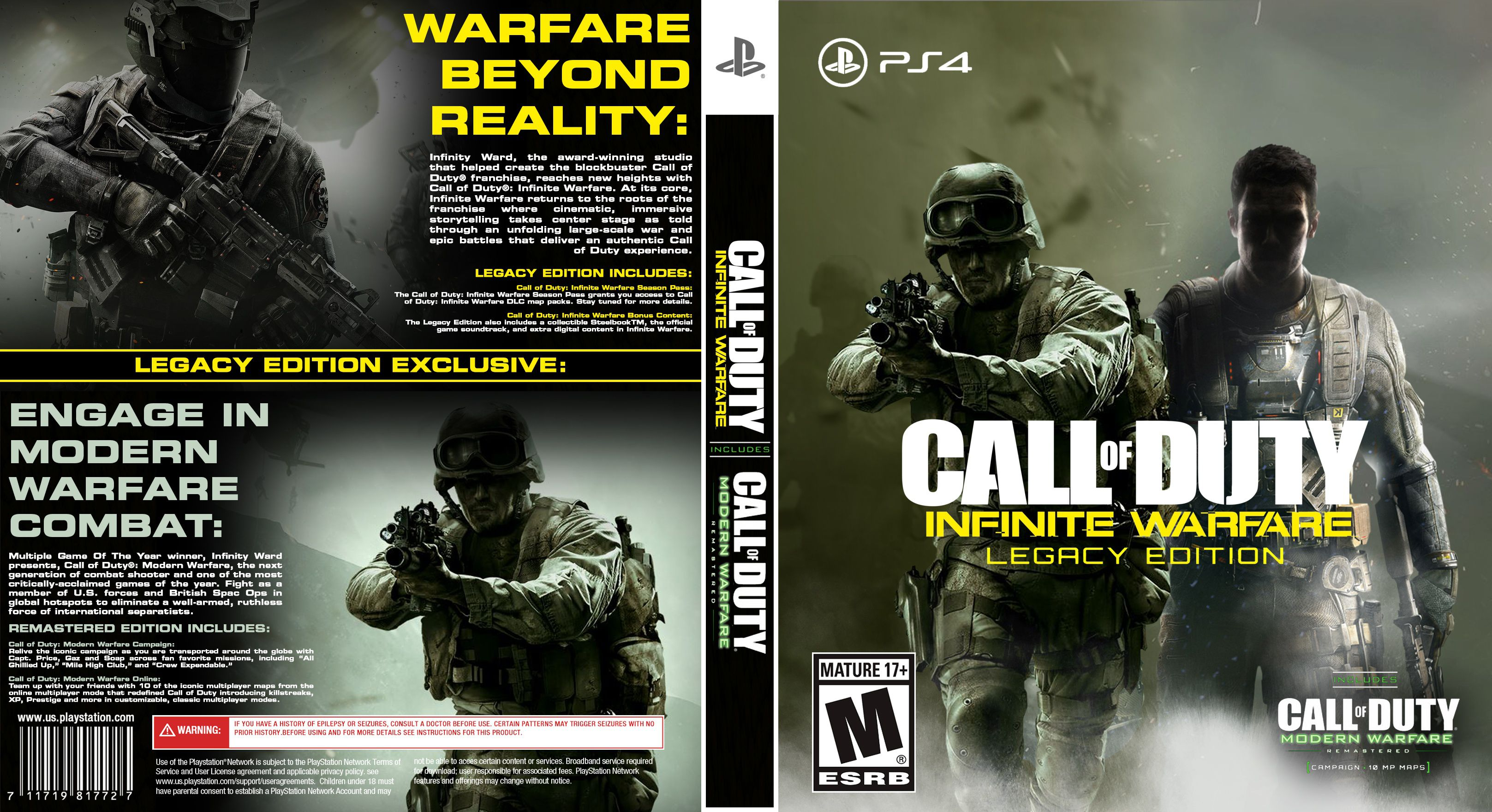 All About Call Of Duty Infinite Warfare Ps4 Game Argos Same Day