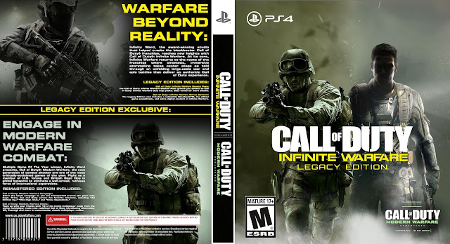 Capa Call Of Duty Infinite Warfare Legacy Edition PS4
