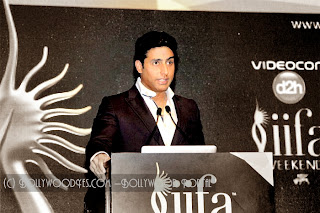 Abhishek - IIFA Awards 2013 In Macau