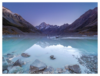 Aoraki, Hooker Lake, Hooker Valley, Mt Cook, Sunrise