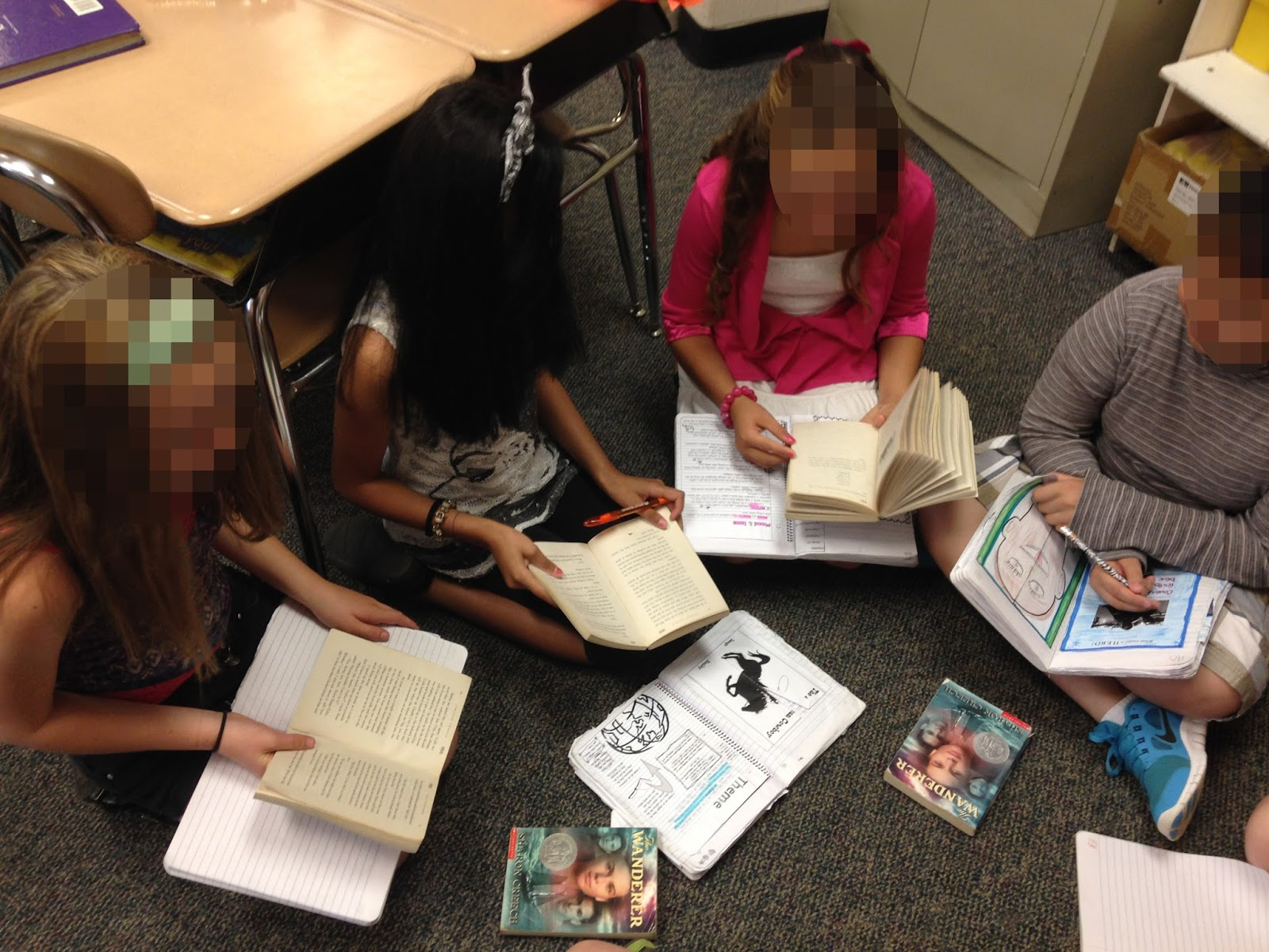 Musings From The Middle School Literature Circles