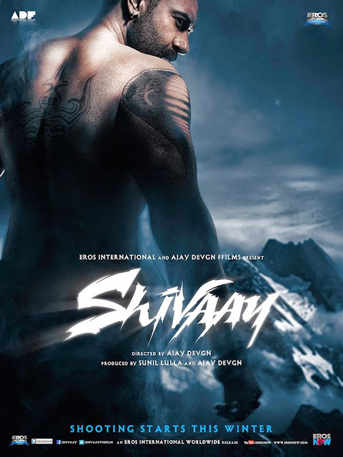 Ajay Devgn's 'Shivaay' First Look Poster Out!