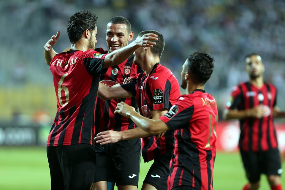 مباراة الوداد البيضاوي المغربي واتحاد العاصمة الجزائري