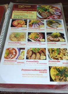 Kao soi, plato,tipico, tailandia, norte,