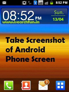 How to Take Screenshot or Snapshot of Screen in Android Phone or Tablet