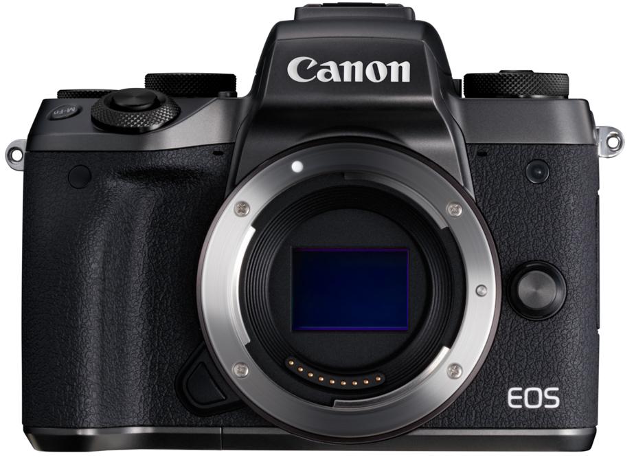Canon EOS M5, вид спереди