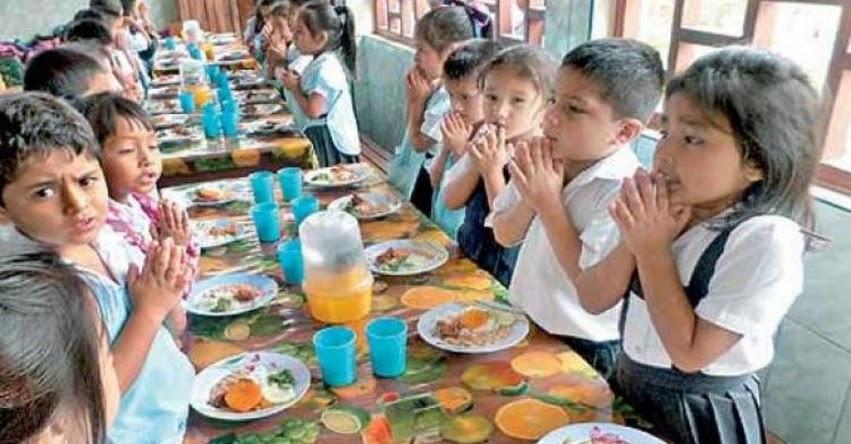 QALI WARMA: Impiden uso de edulcorantes en raciones destinadas a escolares beneficiarios del programa social - www.qaliwarma.gob.pe