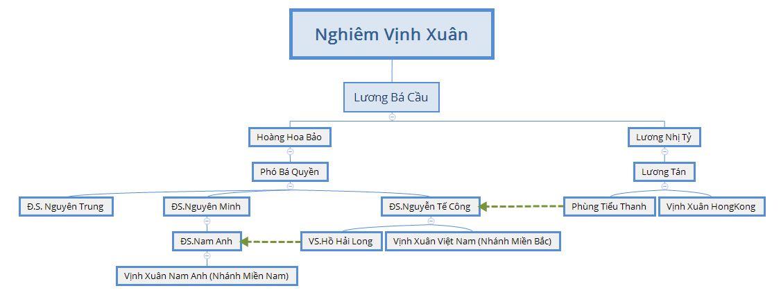 Sự khác nhau giữa Vịnh Xuân Hồng Kông Diệp Vấn và Vịnh Xuân Việt Nam