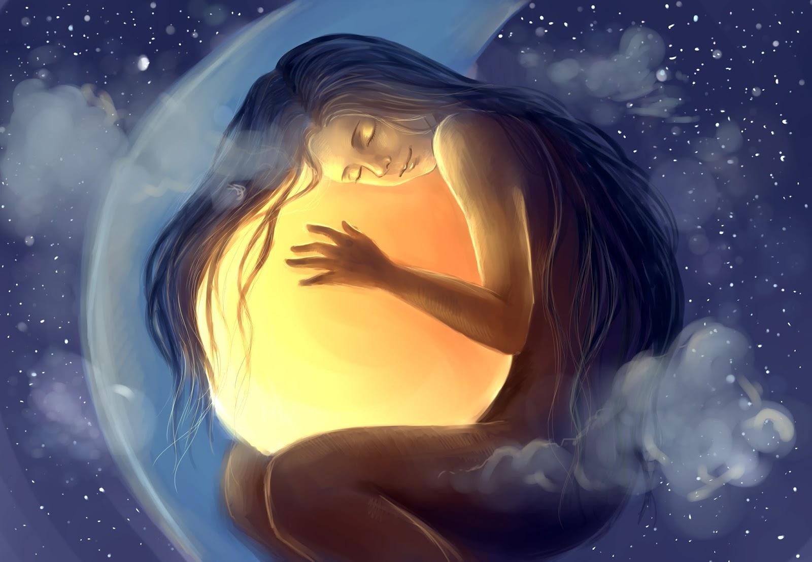 Видеть во сне луну и звезду