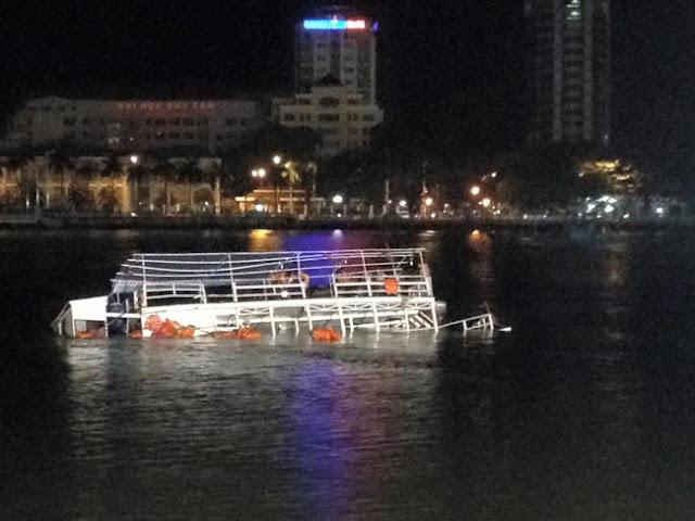 Những diễn biến mới nhất về vụ chìm tàu trên sông Hàn