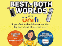 Latest UniFi BIZ Package with Webe 2017