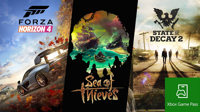 forza horizon 4 xbox game pass sea of thieves gamescom 2018 state of decay 2