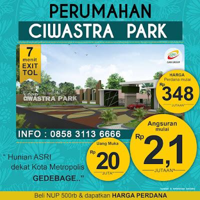 Perumahan Gland Ciwastra Park Dp 20 Jt Margacinta Bandung