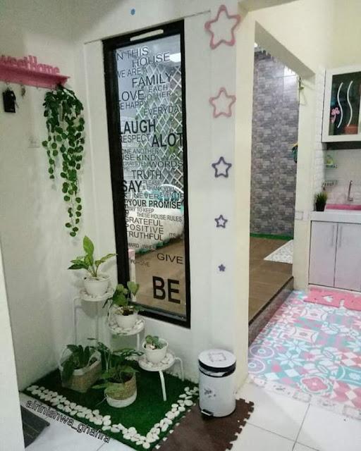 Inspirasi Rumah Minimalis Tipe 50 Ruang Tidur jendela di dalam