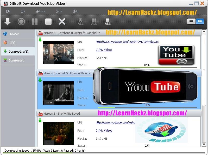 Xilisoft YouTube HD Video Downloader Free Download Crack