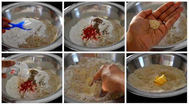 Crispy Mixed Millet Murukku/Millet Chakli