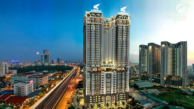 Chung cư Sunshine Center Phạm Hùng