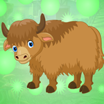 G4K Cute Bison Escape