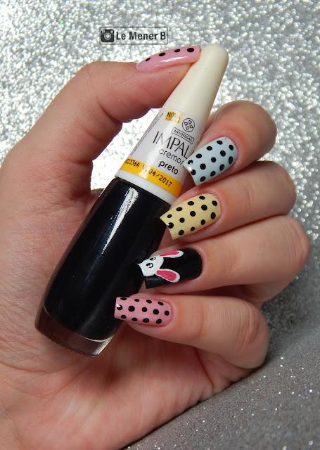 nail art para pascoa