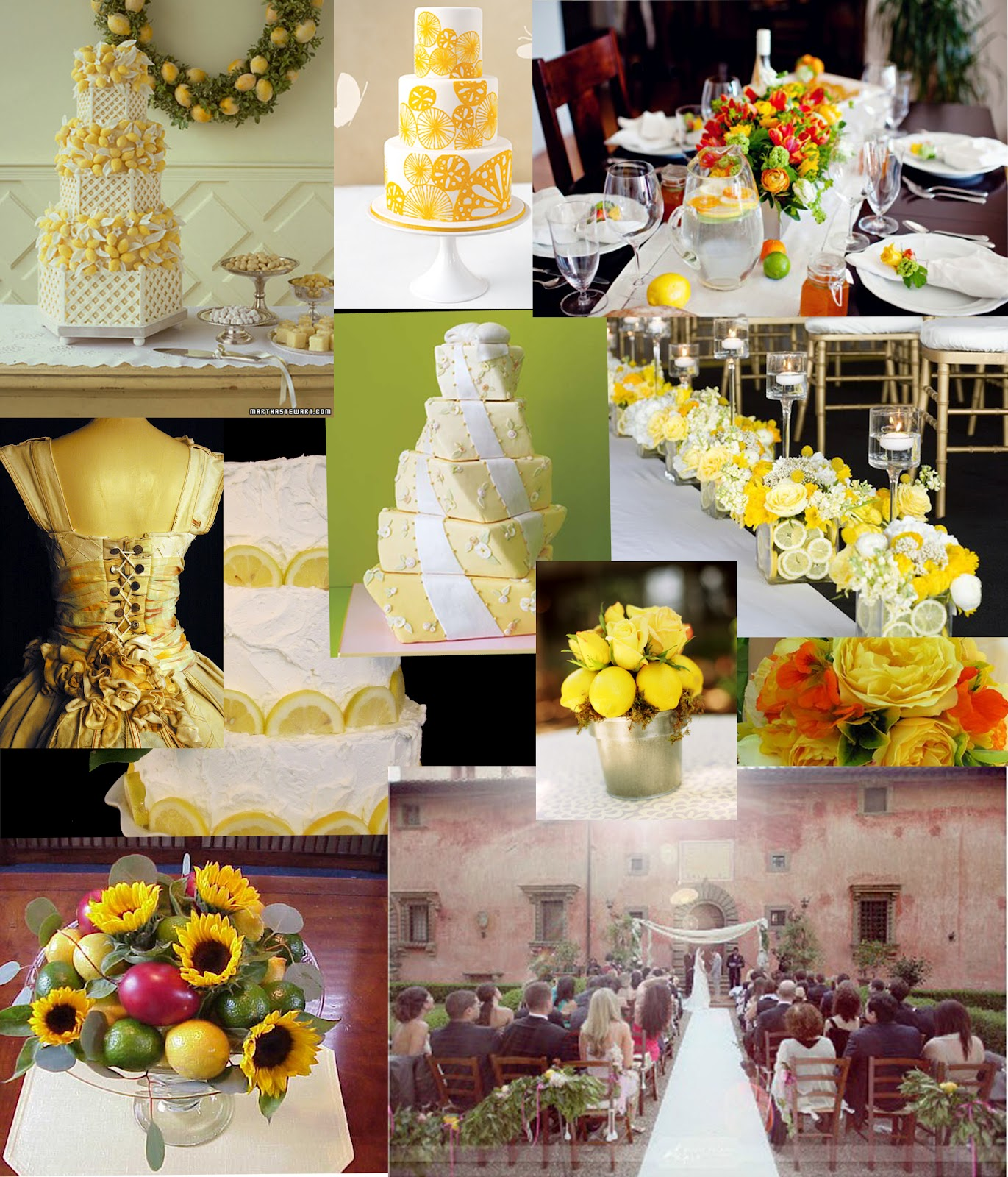 Wedding Theme Ideas: Weddingzilla: Lemon Wedding Theme JUICY Summer Wedding Ideas