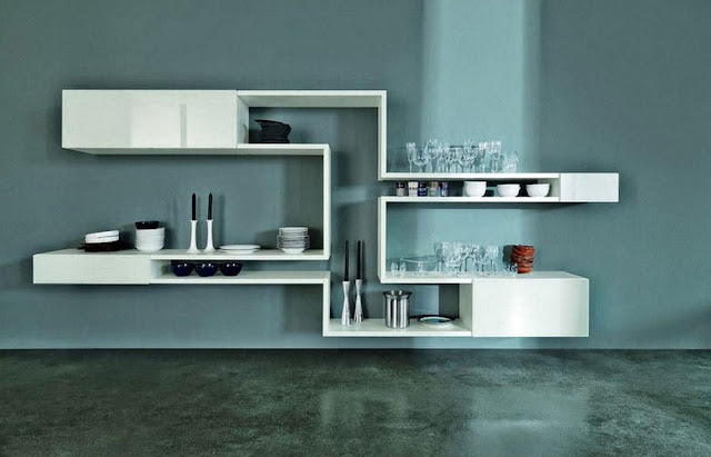 Modern Wall Shelves Decorating Ideas picture