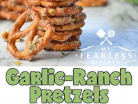 GARLIC-RANCH PRETZELS