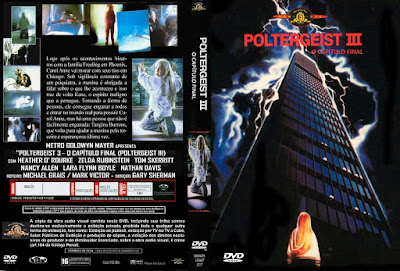 Filme Poltergeist 3 O Capítulo Final (Poltergeist III: The Final Chapter) DVD Capa