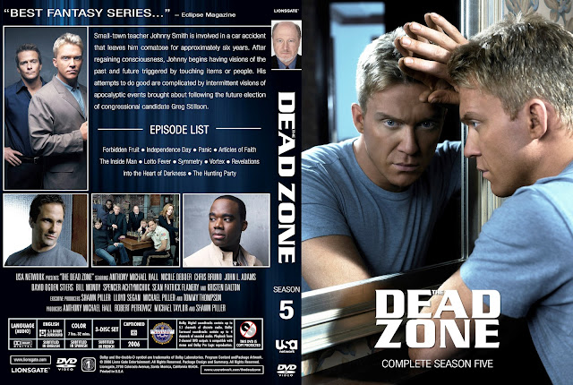 Dead Zone Season 5 DVD Cover