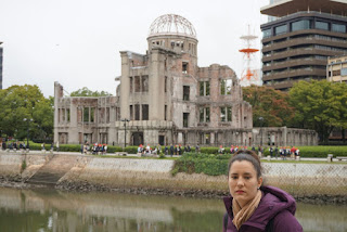 Edificio con su cúpula en Hiroshima