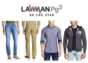Lawman Men's Clothing: Flat 60% Off@ Amazon