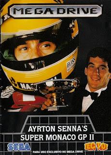 Ayrton Senna's Super Monaco GP II (BR) [ SMD ]