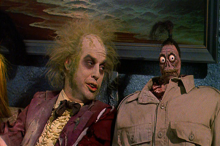 Beetlejuice Head Shrinks scene YouTube - beetlejuice shrunken head