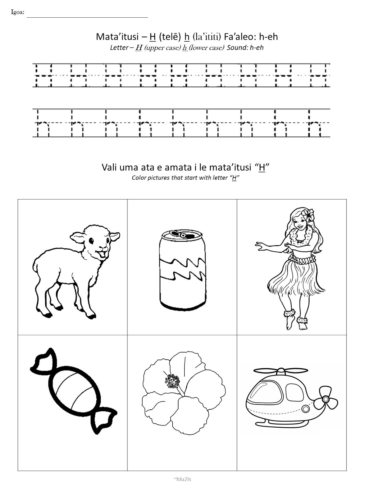 Samoan For Kids Samoan Alphabet