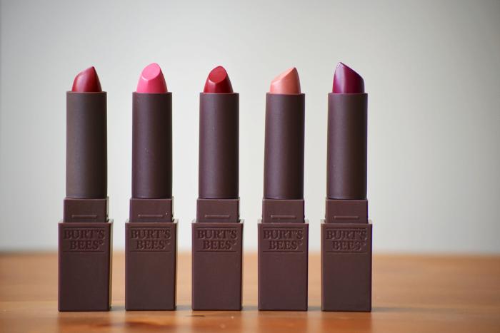Burt's Bees Lipsticks drugstore
