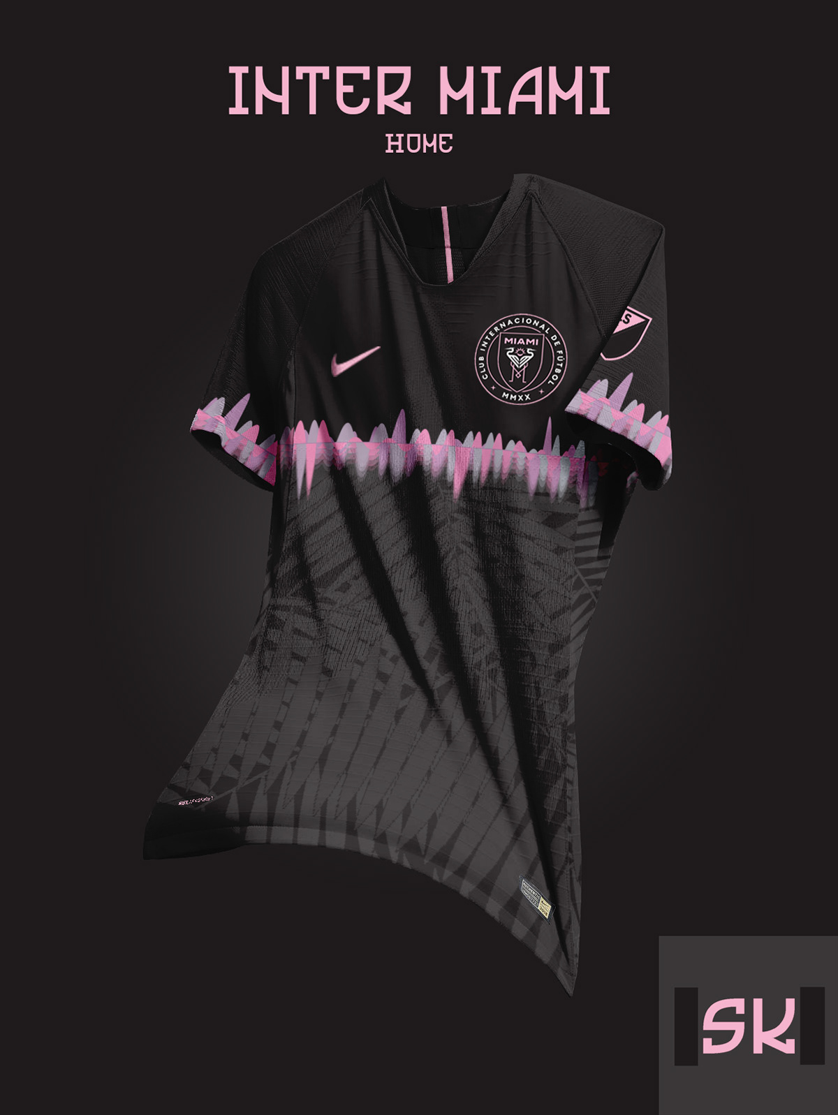 best service c177f ffc4d MLS From 2020 - Nike Inter Miami CF Concept Kits By Santi ...