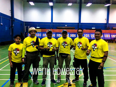 Warih-Homestay-Jebat-Archery-Team-Melaka-Semasa-Pertandingan