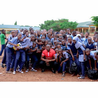 """BBNaija Star, Leo, Joins Queen Nimat As She Launches """"Blue Child Project"""" In Abuja"""