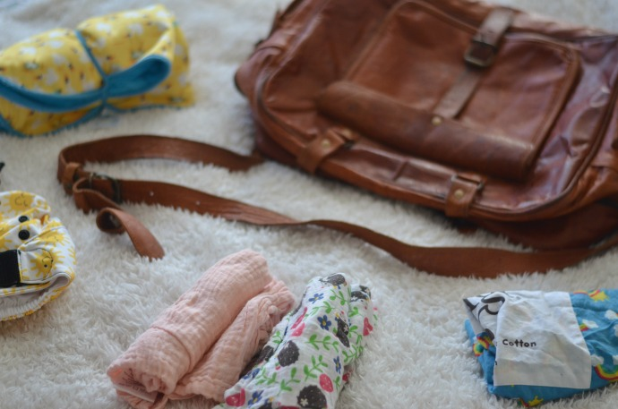 changing bag, what to pack in a changing bag, cloth nappy mum, cloth nappy changing bag