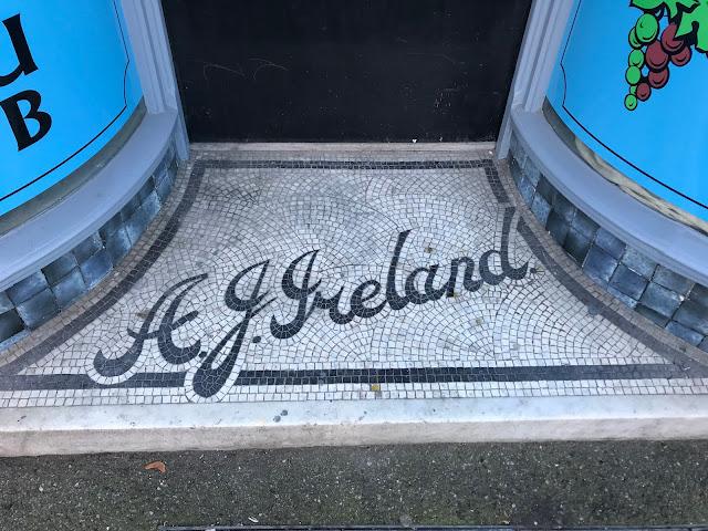 A.J.Ireland, Doorway Mosaic, Rochester, Kent